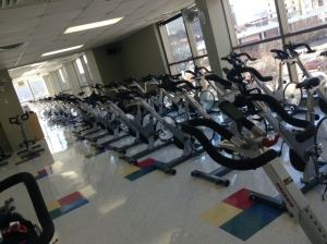 Keiser bikes for indoor cycling class