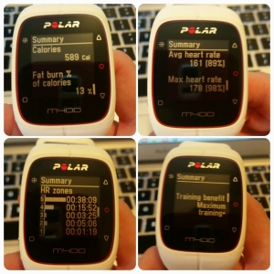 Polar M400 - spinning / indoor cycling profile 60-12-03