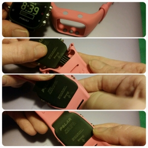 Polar A300 How to Switch out the watches band